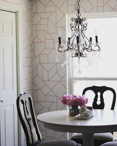 How To Install Removable Wallpaper  Dining Room