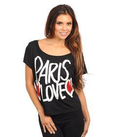 P.S. I Love You More Boutique | Paris Love Top | www.psiloveyoumoreboutique.com