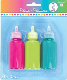 Bright Paint Set 3pc - Party City