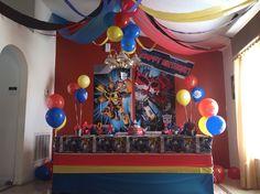 Jariel's transformers birthday party