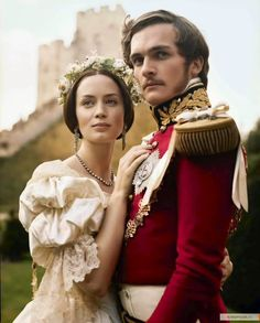 Emily Blunt and Rupert Friend in Young Victoria