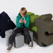 @BuzziSpace - puzzle seating