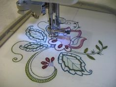 Embroidery 101 --- towels & flour sack towel