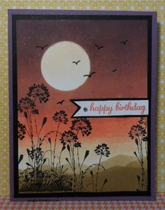 Brayer sunset card