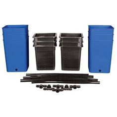 Hydroponic Site Grow Kit 72 Site Ebb and Flow Deep Water Culture Garden System with Nest Basket, Water Pump and Sponge(Item Hydroponics System, Hydroponic Gardening, Hydro Systems, Grow Kit, Deep Water, The Expanse, Outdoor Gardens, Basket, Pumps