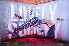 De Lisboa para o mundo: a arte urbana 3D de Sérgio Odeith | Catraca Livre