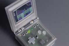 P I X E L  V I S I O N - C R Y S T A L L I N E  E D I T I O N Handheld Emulator System