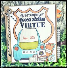 June 2015 LDS Visiting Teaching Handout / Kit - The Attributes of Jesus Christ: Virtue by amysbasketdesigns on Etsy