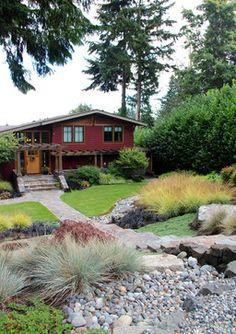 Bainbridge Island Entry Garden Design Ideas, Pictures, Remodel and Decor