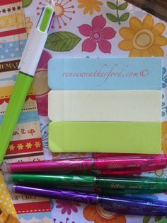 Customizing A Filofax Renew Your Space | Renew Your Space