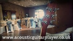 A beautiful laid out room ready for a wedding breakfast at Rudstone Walk. www.acousticguitarplayer.co.uk