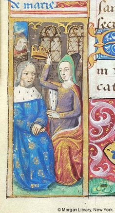 Book of Hours, MS H.5 fol. 55v - Images from Medieval and Renaissance Manuscripts - The Morgan Library & Museum