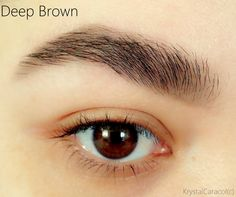 Deep Brown (#21723) http://www.eyeslipsface.fr/produit-beaute/crayon-a-sourcils-2-en-1