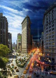 Dia & noche en New York.
