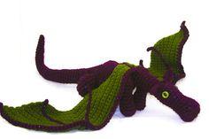 Grapevine - Large Amigurumi Dragon