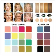 12 great color combinations for your complexion