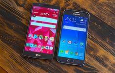 LG G4 vs Galaxy S6: vídeo compara diversos aspectos dos topos de linha - http://www.showmetech.com.br/lg-g4-vs-galaxy-s6-video-compara-diversos-aspectos-dos-topos-de-linha/