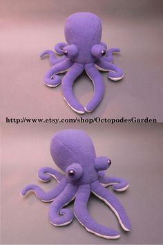 Purple octopus plush!