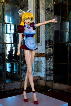 Miss ko2 de Takashi Murakami au Château de Versailles.