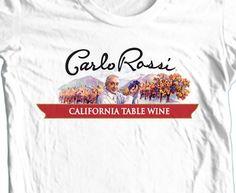 Carlo Rossi Wine T-shirt California Boone's Farm 100% cotton graphic tee beer #GildanHanes #GraphicTee