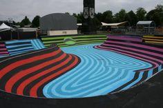 Skatepark graffiti, Griftpark, Utrecht, NL (by JanIsDeMan). Diseño de skateparks…