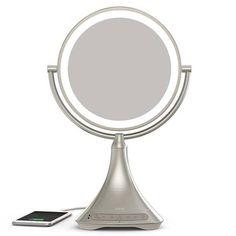 iHome Vanity Mirror Portable Bluetooth Speaker