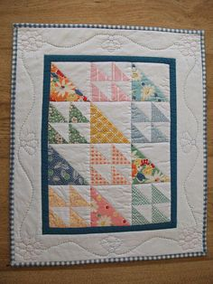Doll Quilt: simple and sweet