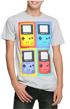Official Nintendo Gameboy Color t-shirt! Buy here http://amzn.to/2mju3Fu