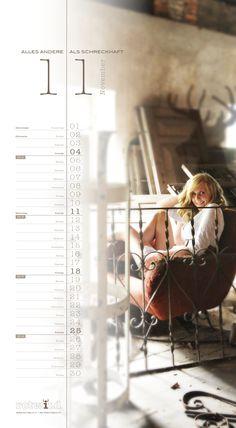 Rotwild Kalender November 2012