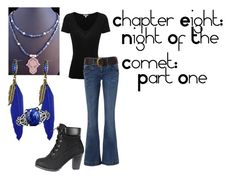 """""""Chapter Eight Night of the Comet Part One"""" by iris-rainbowwolf ❤ liked on Polyvore featuring art"""