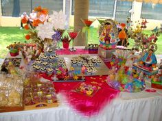 CANDY BAR PRIMERA COMUNION, VIRGENES