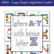 Lego Duplo Alphabet