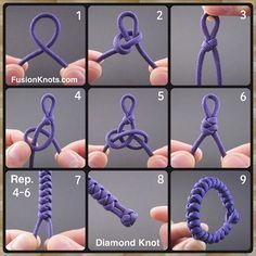 """Reposting JD Lenzen: ... """"Snake Knot Bracelet-Paracord Fusion Ties - Volume 2 on www.amazon.com/! #paracord #DIY #fusionties"""""""
