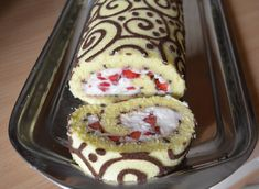 NooN beaded jewellery: painted roll-step by step Czech Recipes, Russian Recipes, Swiss Cake, Cake Roll Recipes, Painted Cakes, Rolls Recipe, Mexican Food Recipes, Bakery, Yummy Food
