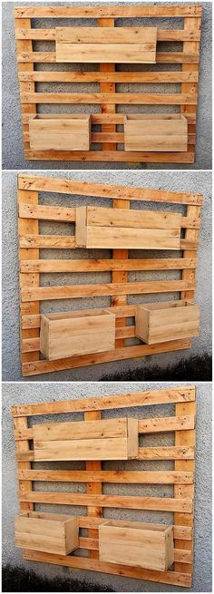 pallets wall planter #pallets #woodpallet #palletfurniture #palletproject #palletideas #recycle #recycledpallet #reclaimed #repurposed #reused #restore #upcycle #diy #palletart #pallet #recycling #upcycling #refurnish #recycled #woodwork #woodworking