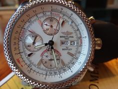 Breitling Bentley GT A13362 Stainless Steel Chronograph Automatic BOX/PAPERS #Breitling #LuxurySportStyles