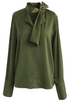 Give in to Elegance Smock Top in Emerald - New Arrivals - Retro, Indie and Unique Fashion