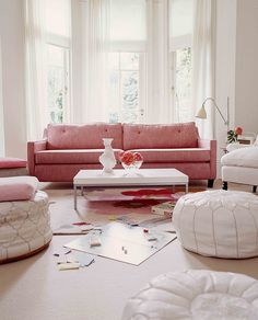 pink and pretty room