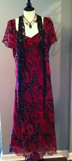 BBW Plus size flapper dress Gatsby Downton Abbey Steampunk 1920s Deco XL-3X