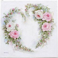 Rosy Heart Wreath