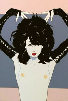 Painting by Patrick Nagel Art And Illustration, Illustrations, Character Illustration, Patrick Nagel, Nagel Art, Arte Pop, Pin Up Art, Erotic Art, American Artists