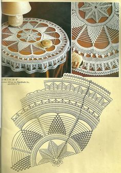 Home Decor Crochet Patterns Part 73 - Beautiful Crochet Patterns and Knitting Patterns Filet Crochet, Beau Crochet, Crochet Doily Diagram, Crochet Doily Patterns, Crochet Mandala, Crochet Home, Thread Crochet, Crochet Designs, Crochet Doilies