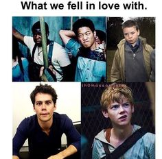 the maze runner preferences - Google Search