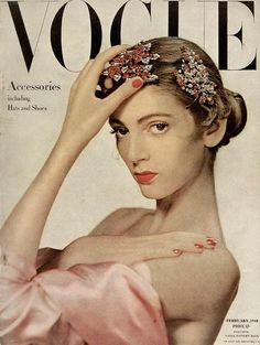the lfc fellowship honors carmen dell'orefice (image: vogue cover 1948)