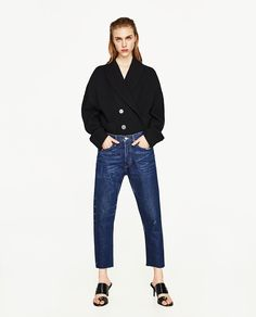 LOW-RISE BOYFIT JEANS-Real-JEANS-WOMAN | ZARA United States