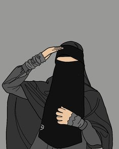 Islamic Cartoon, Cute Animal Drawings Kawaii, Anime Muslim, Hijab Cartoon, Cute Love Pictures, Aesthetic Vintage, Cartoon Wallpaper, Girl Cartoon, Cute Animals