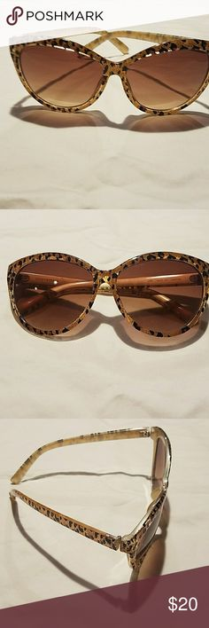 Lucky Brand Sunglasses Lucky Brand Cheetah Print Sunglasses Lucky Brand Accessories Sunglasses