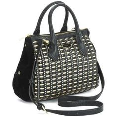 #Fiorelli #Yasmin #Black Cut Out Handbag with Detachable Strap