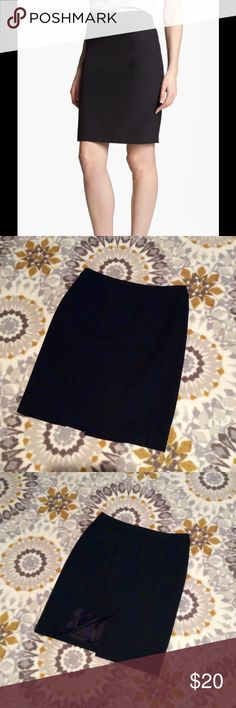Halogen Black Pencil Skirt Halogen Pencil Skirt. Excellent used condition - no signs of wear. Smoke-free home :) ask questions, make an offer, bundle bundle bundle!! Halogen Skirts Pencil