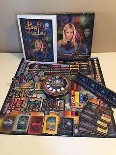 Milton Bradley Buffy the Vampire Slayer Board Game 2000 Hasbro OOP